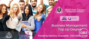 All you should know about top up degree business management