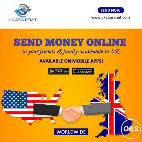Always Best Services Provider Send Money Online with UK Asia Remit in UK