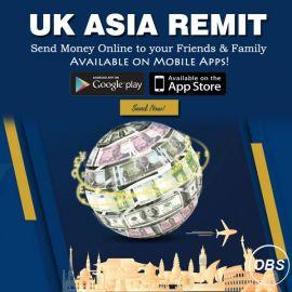 Always Best Services Send Money Online with UK Asia Remit in UK
