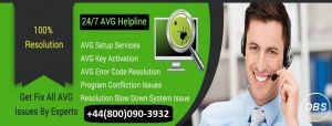 AVG customer support to Resolve Unwelcome Errors