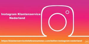 Bellen Instagram Telefoonnummer