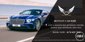 bentley car hire in London