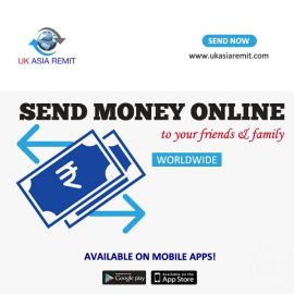 Best and Fast Services send money online in uk with uk asia remit