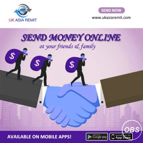 Best and professional Services send money worldwide in uk with ukasia remit