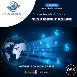Best Service in UK Send Money online worldwide to your friends and family