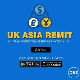 Best Service Send Money Worldwide with uk asia remit in uk