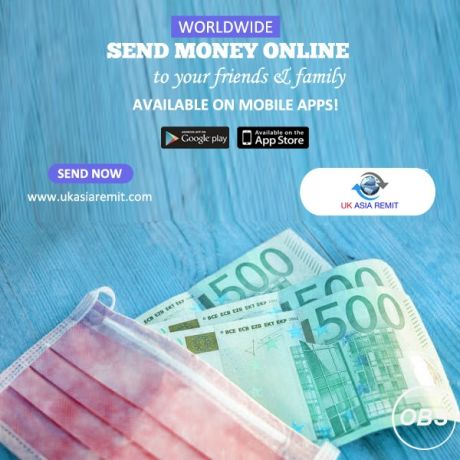 Best Services always send money worldwide to your friends and family in uk