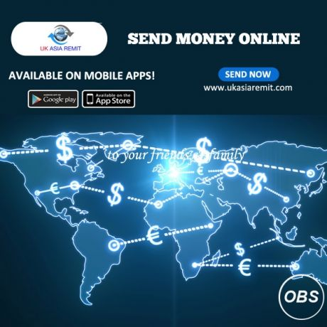 Best Services in UK Send Money Online with UK Asia Remit
