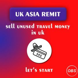 Best Services Sell unused Travel Money in UK Free Ads