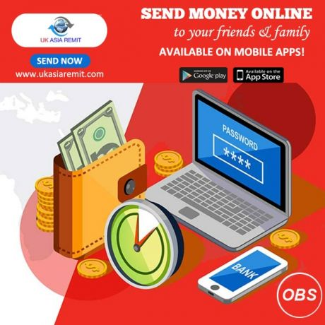 Best Services send money worldwide in uk with ukasia remit