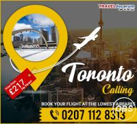 Book Cheap Flights from London to Toronto and London To Toronto Flights
