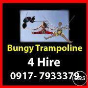 Bungy Trampoline Rent Hire Manila Philippines