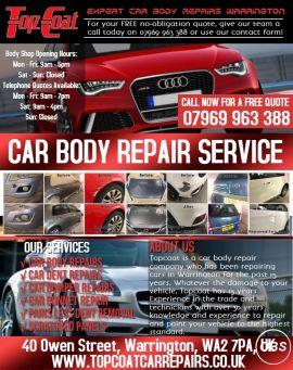 Car Dent Repairs Warrington