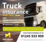 CHEAP INSURANCE TRUCK  VAN – FLEET – COURIER  MOTOR TRADE  TAXI