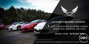 Cheap Luxury Car Hire London