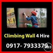 Climbing Wall Rent Hire Manila Philippines