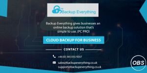 cloud backup for small business