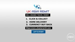 Enjoy Best Rates Sell your Unused Travel money in UK with UK Asaia Remit