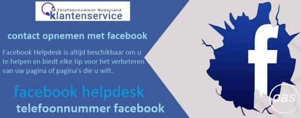 Facebook Helpdesk Nederland  Bellen Facebook Klantenservice