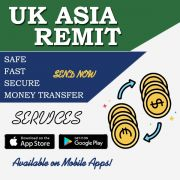 Fast safe secure Money Transfer Services in UK with UK Asia Remit
