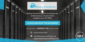Free Online Backup UK