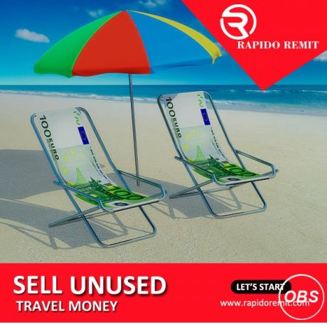 Grate services in uk sell your unused travel money in uk with rapido remit