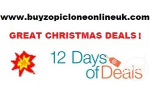 Great Christmas Deals on Zopiclone