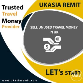 Great Services Sell your Unused Travel Money in Uk with Uk Asia Remit