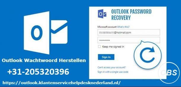Hulp krijgen voor Outlook Account Wachtwoord Vergeten