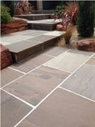Indian Brown Autumn Sandstone  An Exterior Floor Tiles