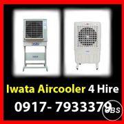 Iwata Aircooler Rent Hire Manila Philippines