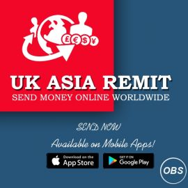 Lets Send Today Send Money Online worldwide with UK ASIA Remit in UK