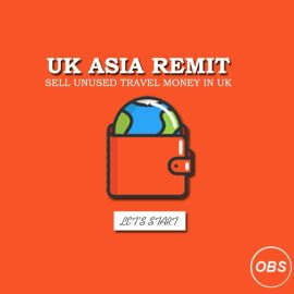 lets Start Sell Unused Travel Money in UK with Rapido Remit