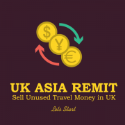 Lets start today sell unused travel money in UK with uk asia remit