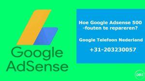 Los problemen met de Google AdSenseregistratiefout 500 op