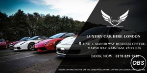 Luxury cars hire in London