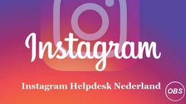 Maak verbinding met Instagram Bellen Klantenservice Nederland