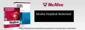 Mcafee Klantenservice Bellen Nederland