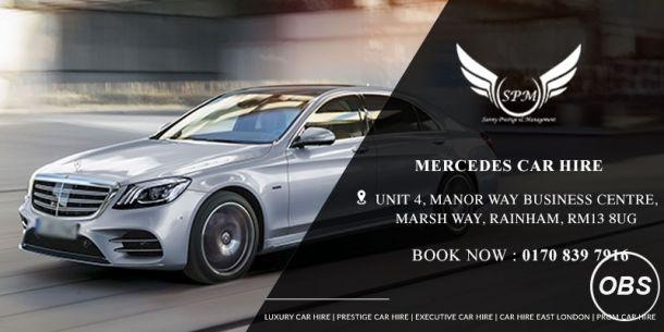 Mercedes Car Hire In London