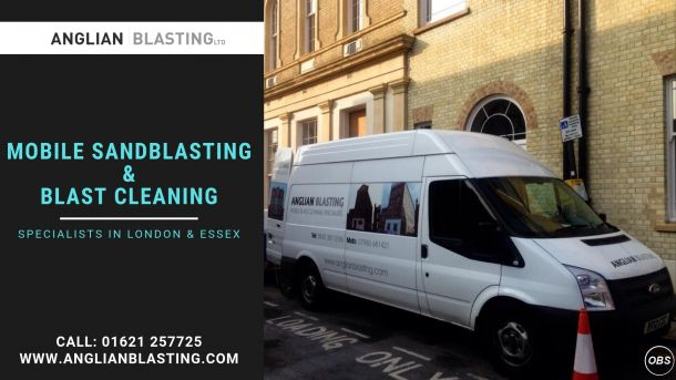 Mobile Sandblasting in Essex  london Anglian Blasting