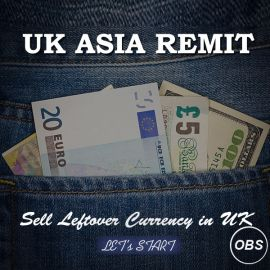 Now Sell Unused Travel Money in UK Free Ads
