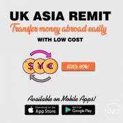 Now Transfer money Abroad Easily with Low Cost with Uk Asia Remit
