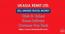 Anytime in uk Sell your Unused travel Money with ukasiaremit