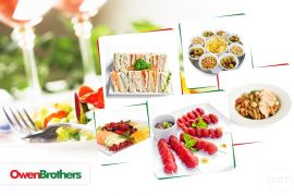 Office Lunch Catering in London  Owen Brothers