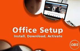 office setup with product key