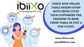Online Reservation System for Restaurant  OpenTable Reservation System  Ibiixo