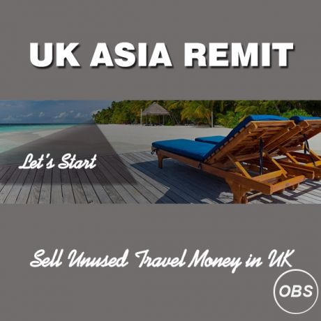 Oversease Money Transfer Services with UK Asia Remit in UK