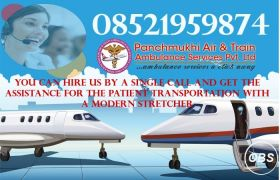 Panchmukhi Air Ambulance in Patna to Quick Patient Transfer Service