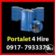 Portalet Rent Hire Manila Philippines