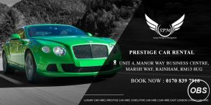 prestige car hire in London